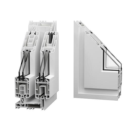 Esquadrias SOFTLINE 142CD - Linha Design | Veka