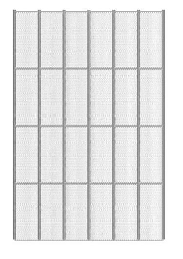 Panel Insecta tipo Drieck | Módulos