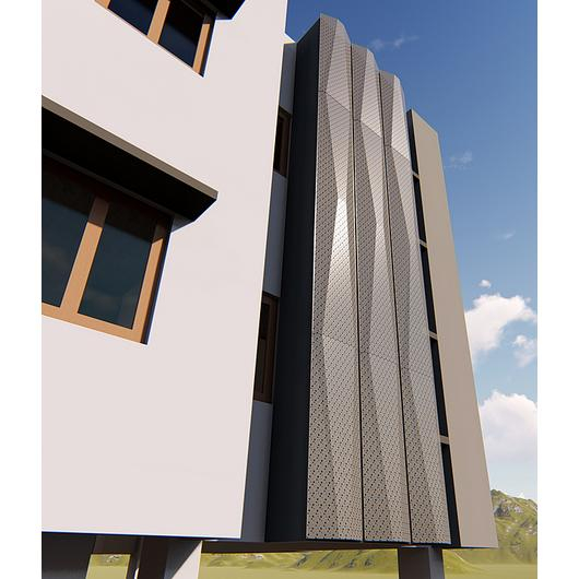 Revestimiento Exterior - Panel Insecta tipo Turned W