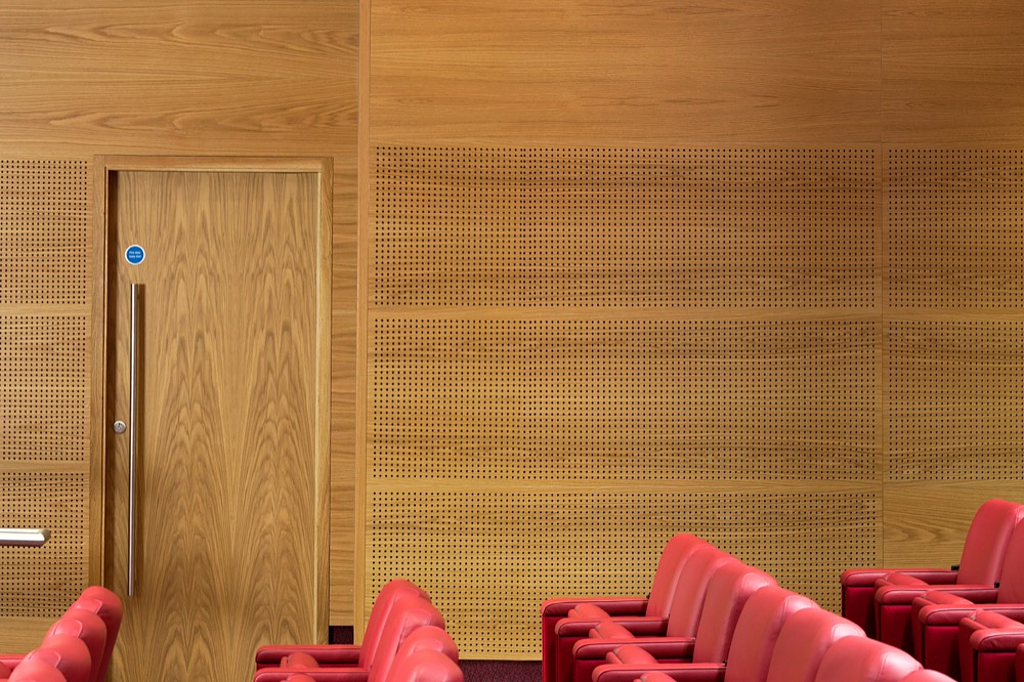 Image of: Acoustic Wood Panels From Gustafs