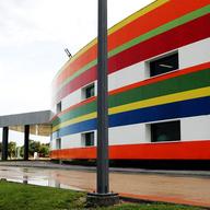 Revestimiento Porcelanizado en Centro Cultural Reynosa