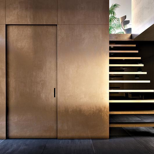 Linvisibile Marea - puerta corredera interior pared