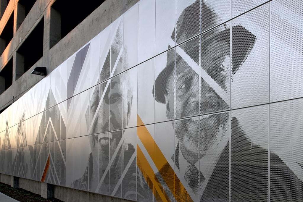Metal Panels - Perforated Imaging