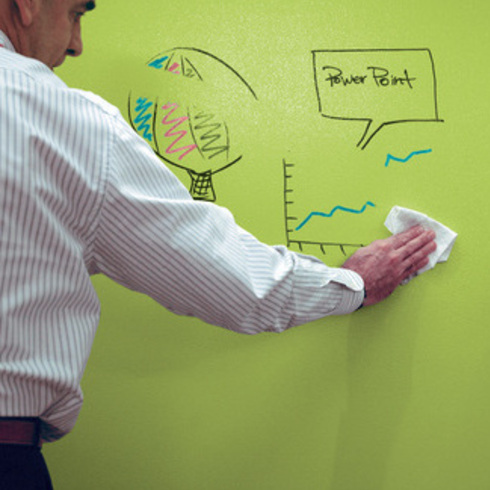 Interior Paints Dry Erase Coating From Sherwin Williams