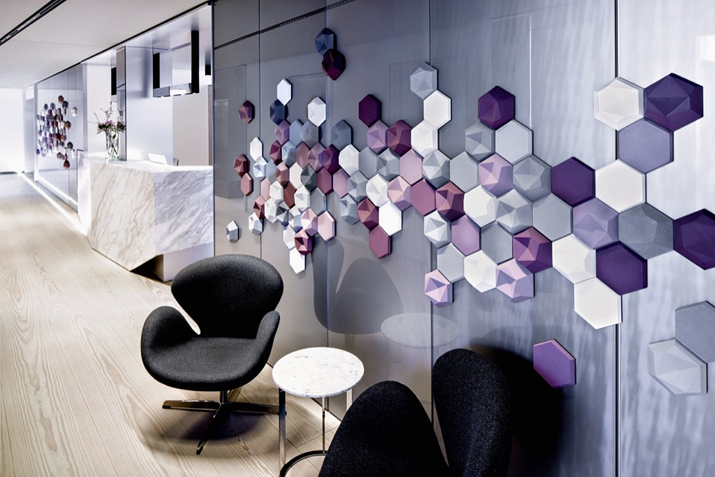 Acoustic Panel System in Skin and Laser Center