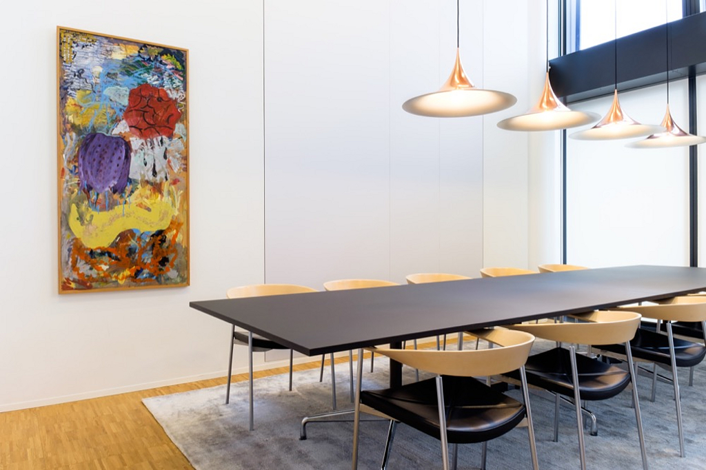 Acoustic Panel System in Nordea HQ