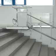 Wheelchair Lift - Delta Inclined Platform