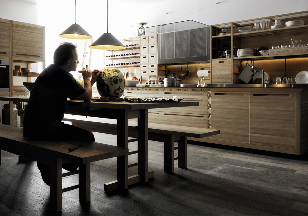 Kitchen cabinet - SineTempore from Valcucine