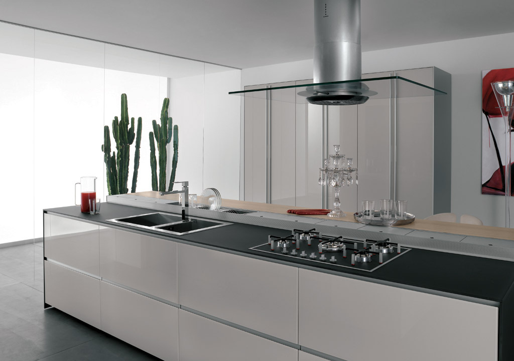 Gallery of Kitchen cabinet - Artematica Vitrum - 7