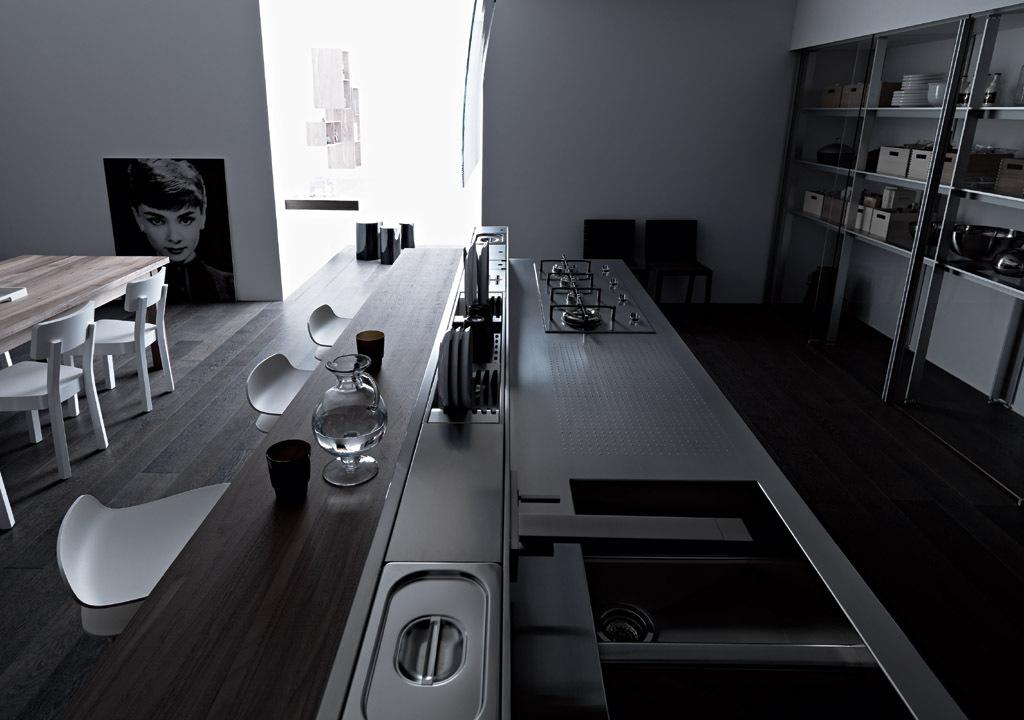 Gallery of Kitchen cabinet - Artematica Vitrum - 7