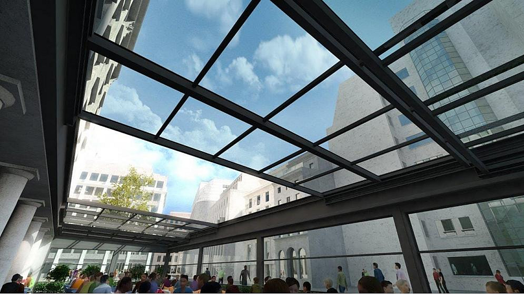 Sunroof Horizontal Retractable Skylights