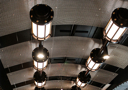 Wire Mesh in Ceilings & Canopies | Banker Wire