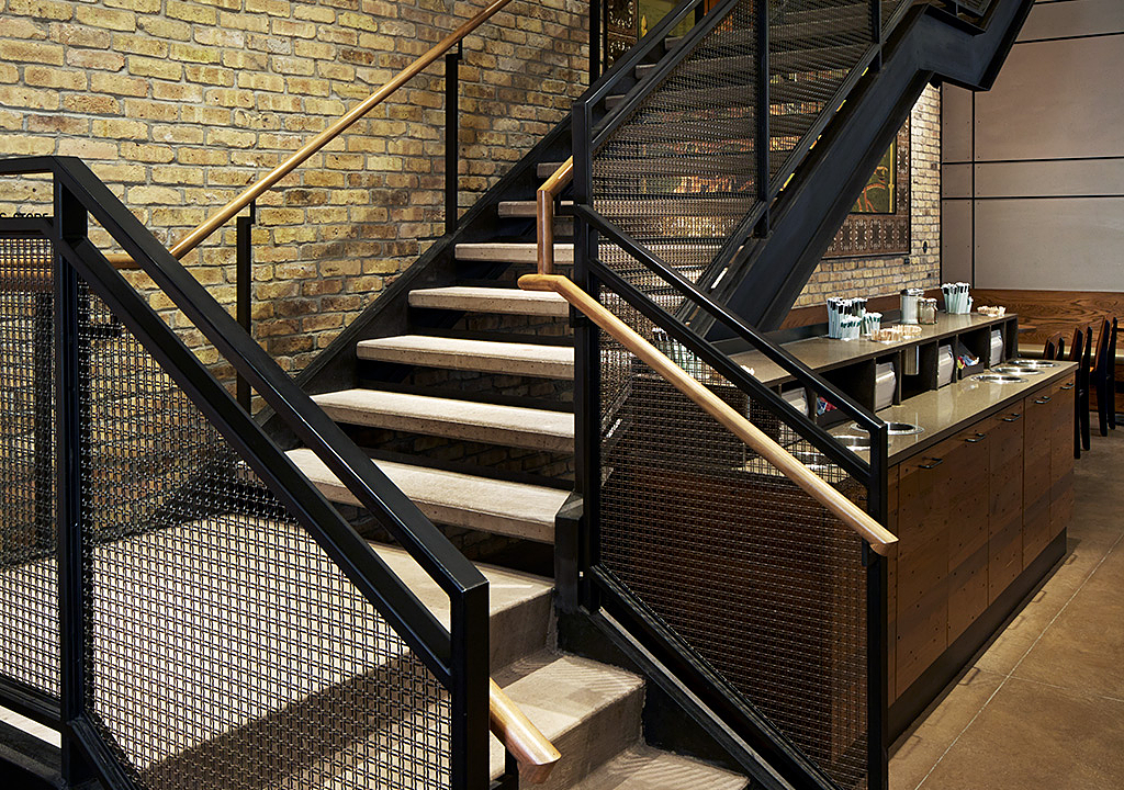 Gallery of Wire Mesh in Interior Railings - 2