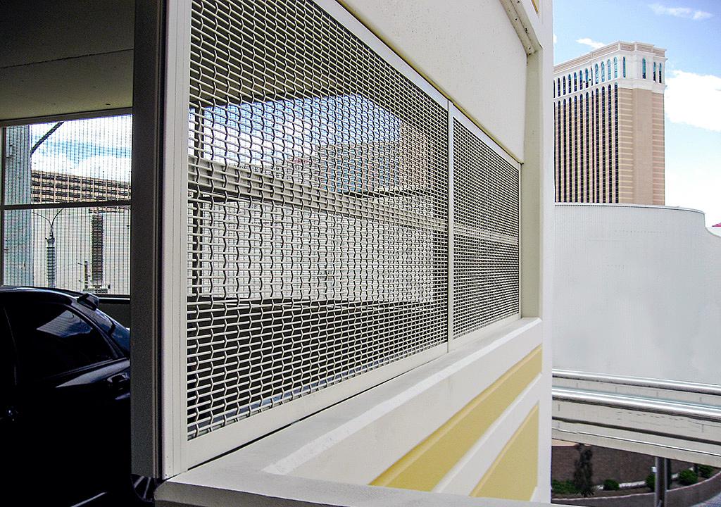 Gallery of Wire Mesh in Parking Garages - 1