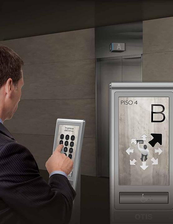 Sistema de gestión para ascensores - CompassPlus™