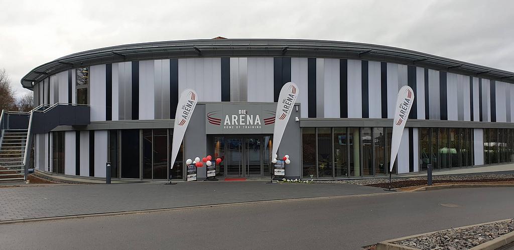 Translucent Facade in Diez Arena