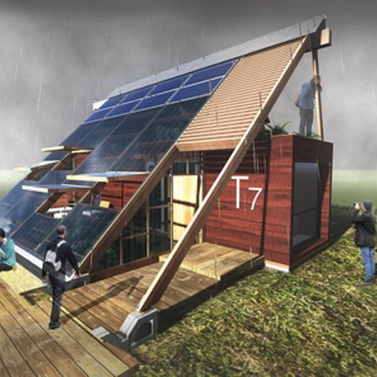 Aplicación Hilam en vivienda sustentable / Arauco