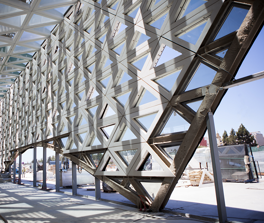 Brise-Soleil in Kenitra Train Station