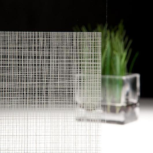 Vinil decorativo para vidrio FASARA FABRIC LINEN