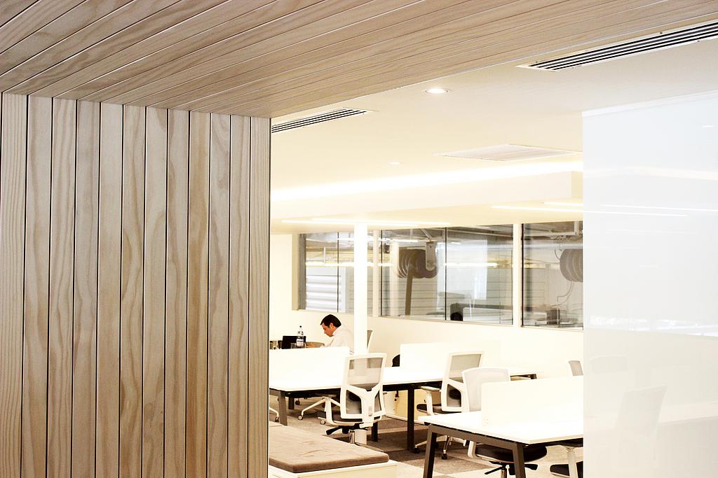 Revestimientos de madera para muros interiores