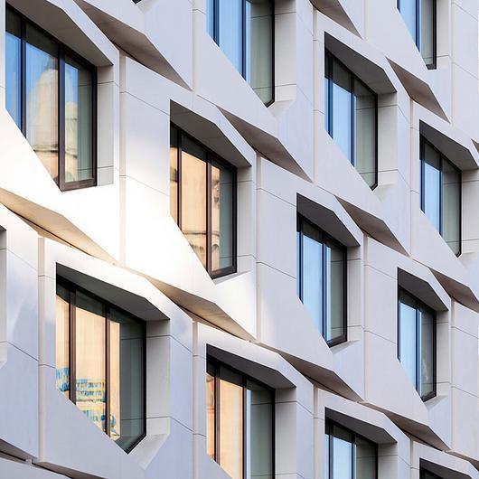 Sintered Stone Facade - Flare of Frankfurt