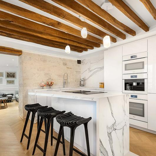 Sintered Stone in Cédric Grolet's Apartment / Neolith