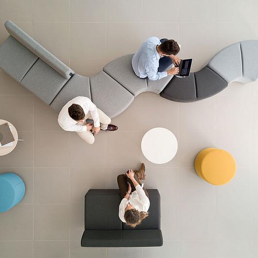 Sillones y sofas para oficina Bend / Actiu