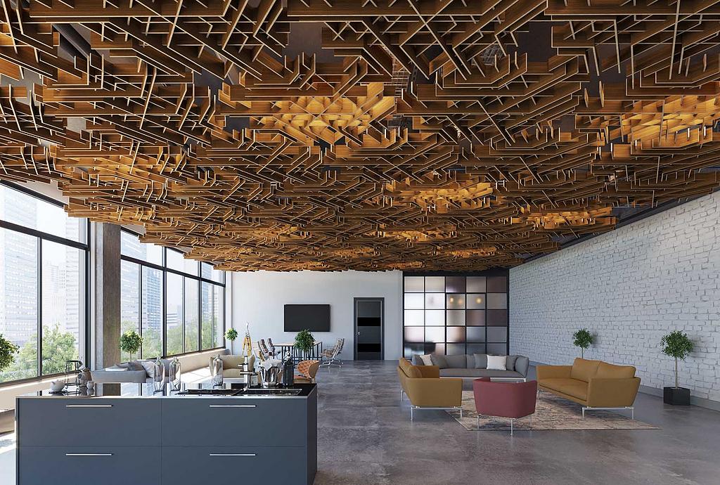 Acoustic Ceilings - SoftGrid Series
