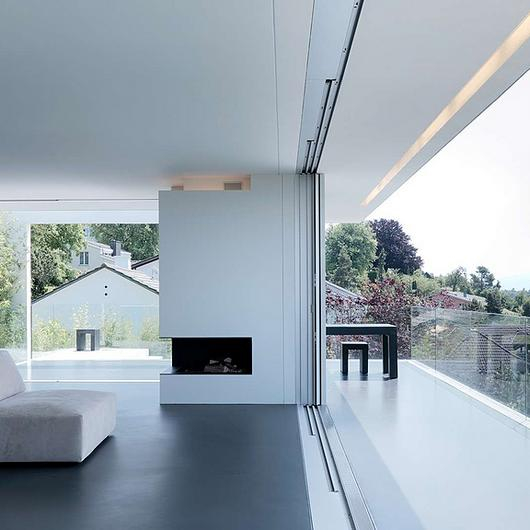 Recessed Sliding Door Feature - Pocket / Sky-Frame