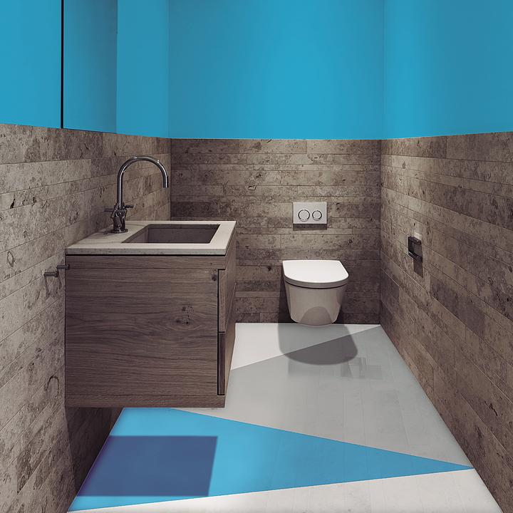 Pintura para pisos en áreas húmedas Ultrafácil®