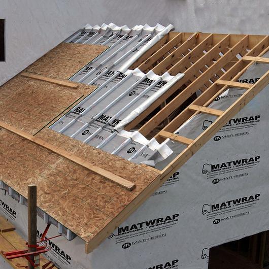 Membrana hidrófuga Tyvek® Homewrap® / Mathiesen
