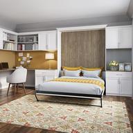 Mobiliario de madera con cama abatible de pared