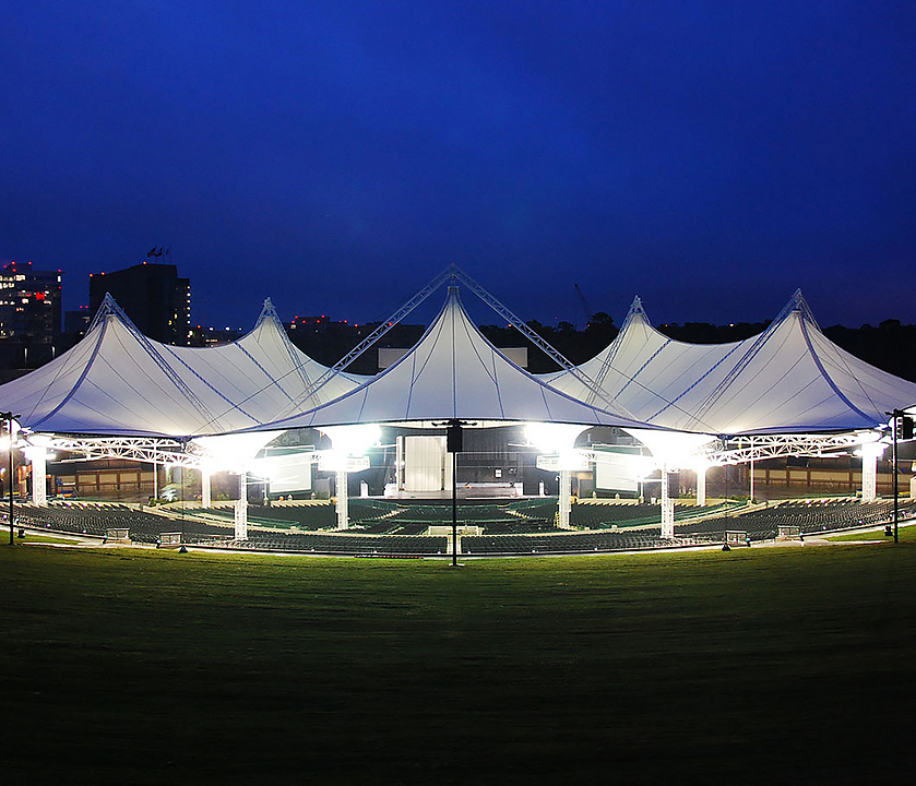 Amphitheater Tensile Membrane Structures