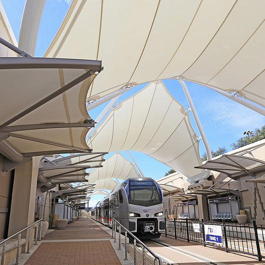 Light Rail Tensile Membrane Structures