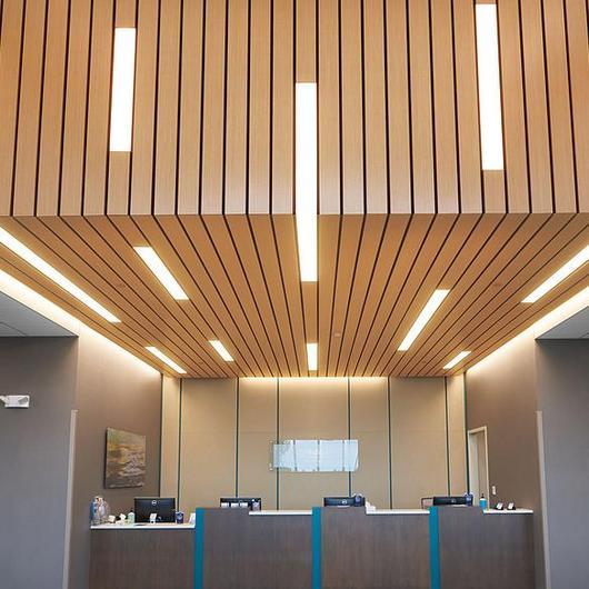 Iluminación lineal para plafones