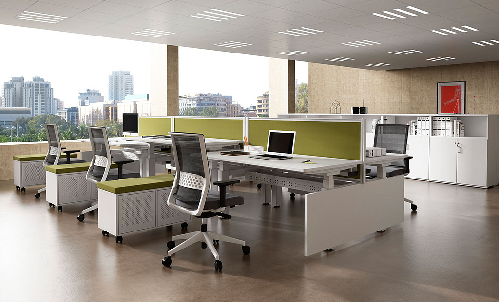 Mesas y escritorios Mobility