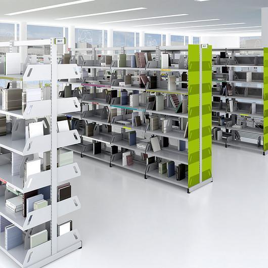 Muebles de oficina y biblioteca- Archivos Level / Actiu
