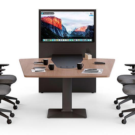 Sistema de mesas para videoconferencia Power