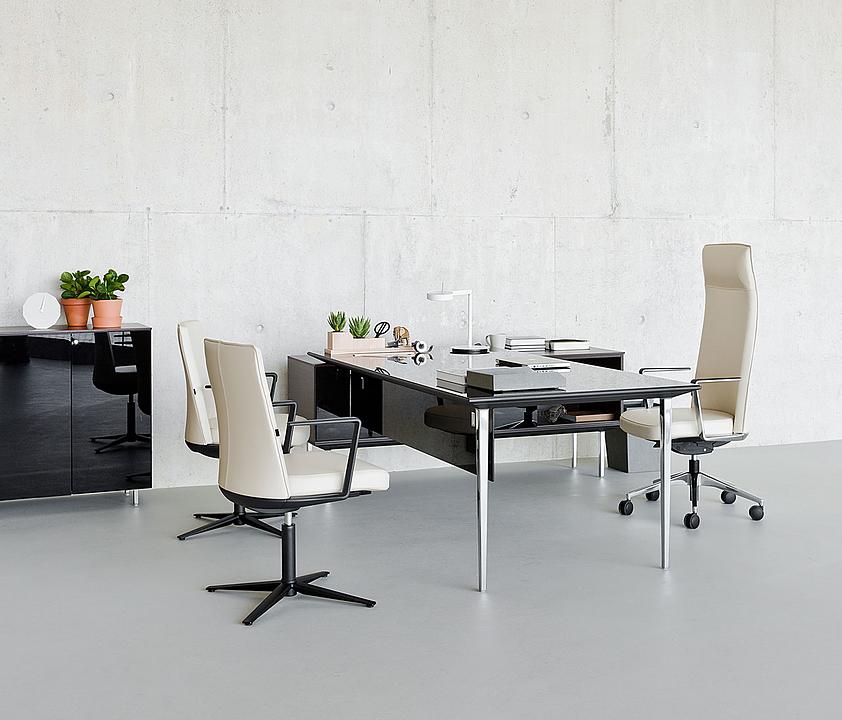 Mesas y escritorios de dirección Longo