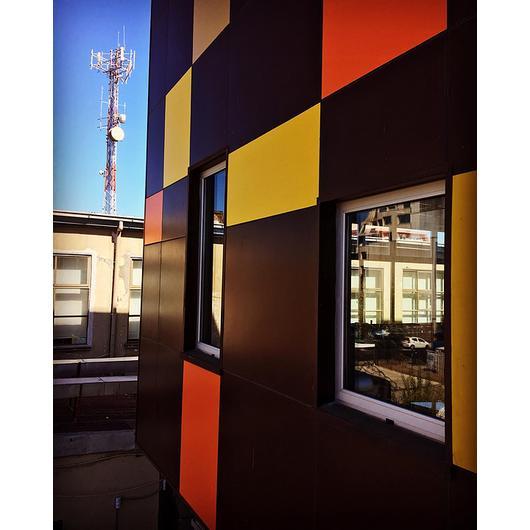 Panel de fibrocemento para fachadas ventiladas e interiores - Durafront® / Volcan