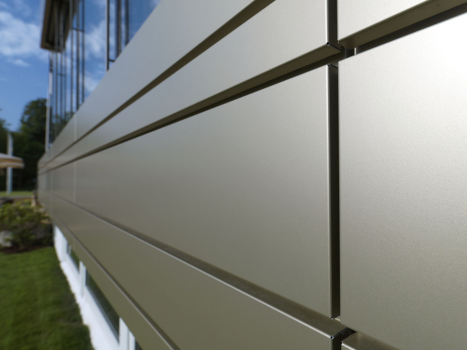 Ventilated Curtain Wall - Ecopanel®