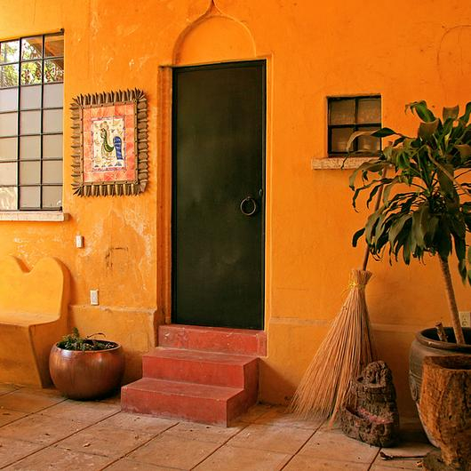 Melamina Vesto en casa histórica - Casa Palomar / Arauco