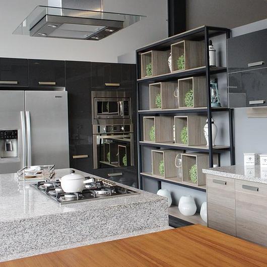 Melamina Vesto en muebles de cocina - Cocinas Finezza