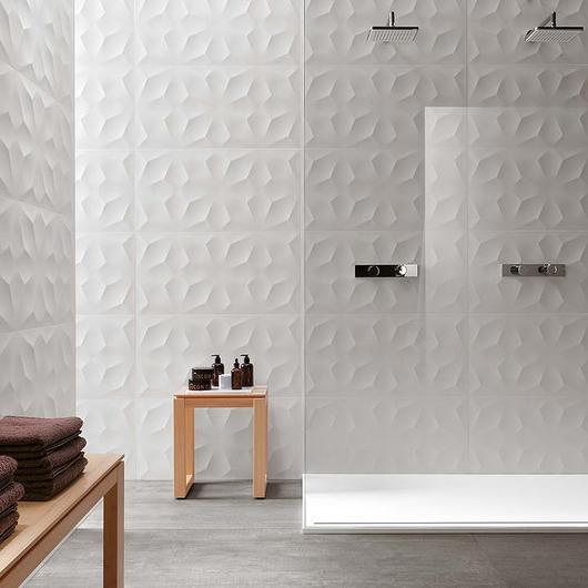 Azulejos rectificados -  3D Wall
