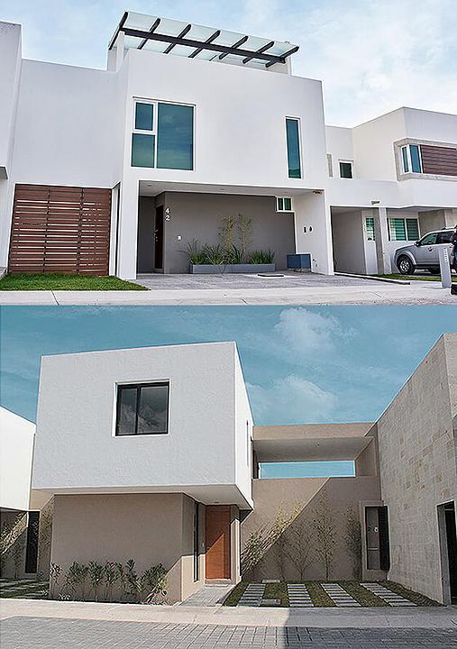 Melamina Vesto en conjunto residencial - Azul Marrón