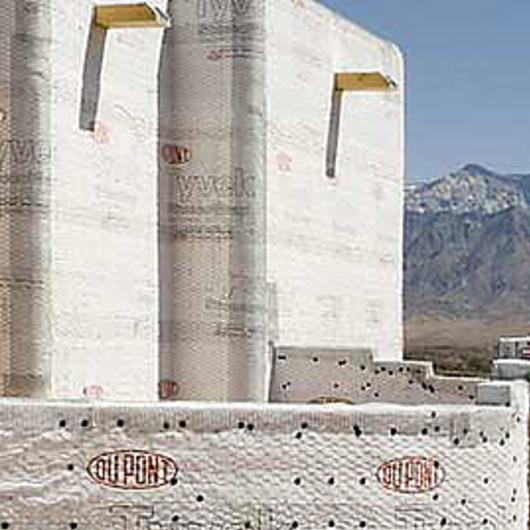 Membrana hidrófuga respirable Tyvek® StuccoWrap® / Mathiesen®