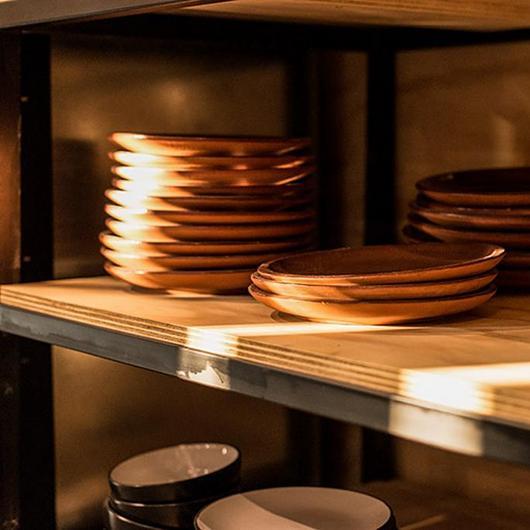 Madera en muebles de cocina - Cocina del Chef