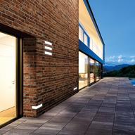 Wall Recessed Lights - Brick