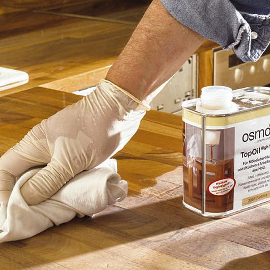 Acabado de Aceite-cera para madera - Osmo Topoil / Nuprotec