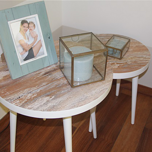 Melamina Vesto en mueblería residencial - Cecilia Ocampo